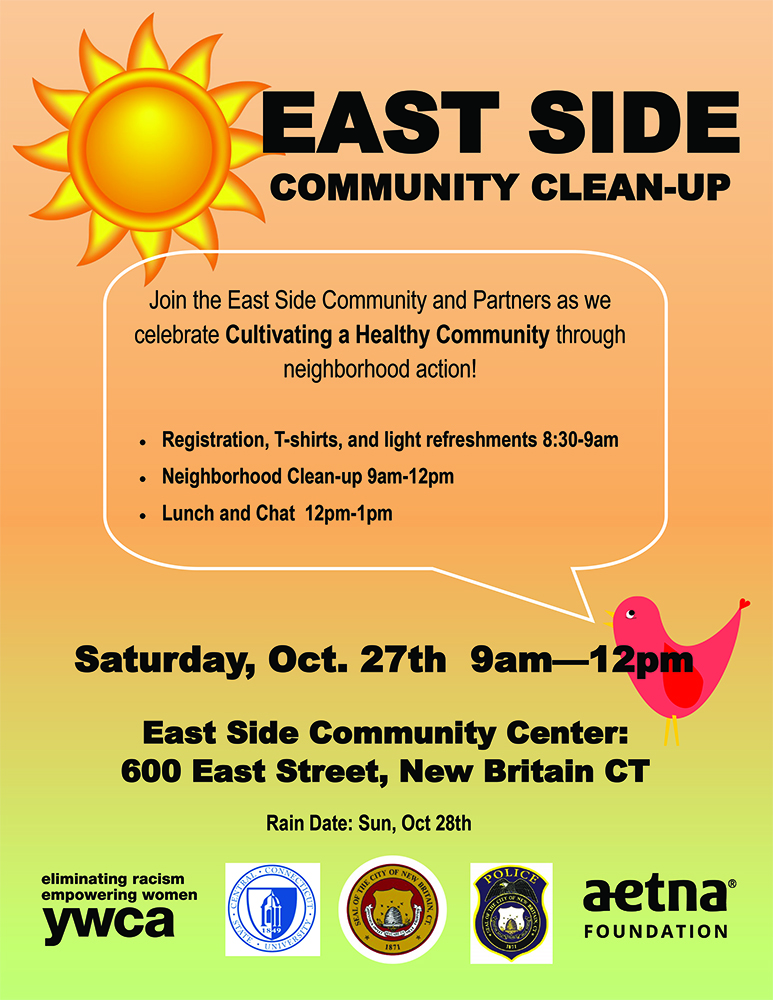 NOV 03 East Side Community Clean Up 8 30 Am 12 00 Pm 600