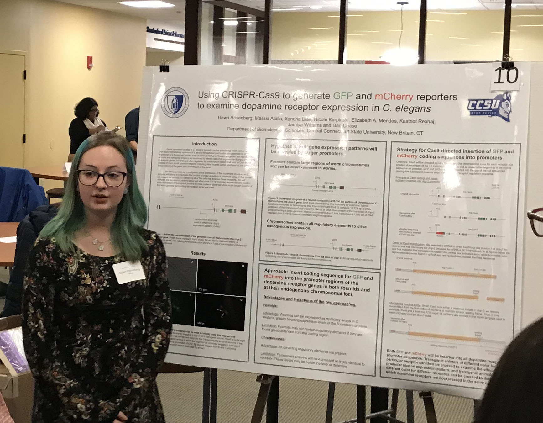 BMS students present at NEURON